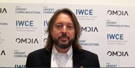 Michigan: Brad Stoddard demonstrates interoperability via Motorola Solutions' Critical Connect