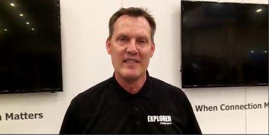 Cobham: Robb Robinson highlights Explorer's LMR coverage-extension capabilities via LTE, satcom